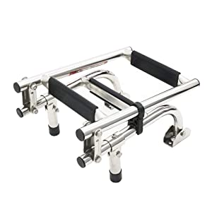 Folding Boat Ladder Stainless Steel Marine Pontoon for Marine Boat Yacht