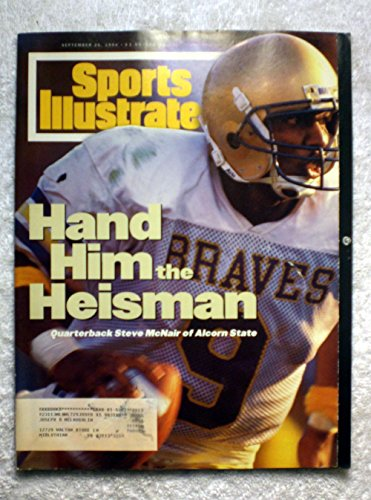 Steve McNair - Alcorn State Braves - Sports Illustrated - September 26, 1994 - College Football - SI by Sports...