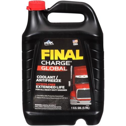 Old World Industries FXA0B3 Red Fleet Charge Pink 50/50 Antifreeze, 1 gallon, 6 Pack by Old World Industries