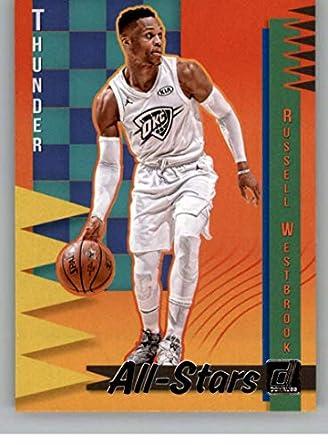 c2c4449b953 2018-19 Donruss All-Stars Basketball Card #3 Russell Westbrook Oklahoma  City Thunder