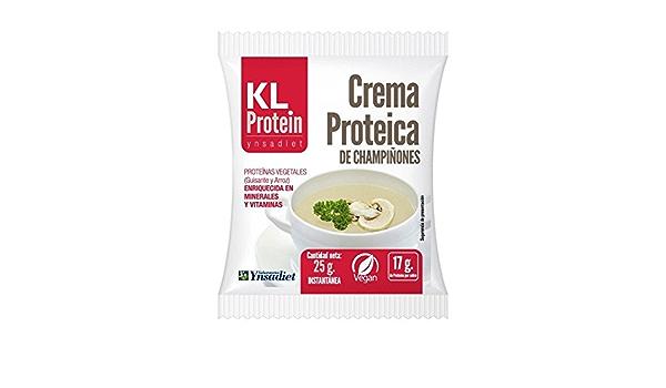 Cremas proteicas 7 sobres champiñones proteina, proteina ...