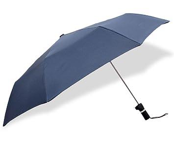QCBC Excéntrica Paraguas Creative Design Triple Paraguas Plegable Regalo para Doble Uso Paraguas para lluvioso y