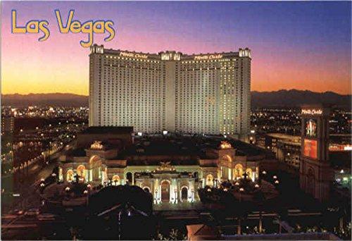 Monte Carlo Hotel Casino Las Vegas, Nevada Original Vintage Postcard (Monte Carlo Hotel Casino Las Vegas Nevada)