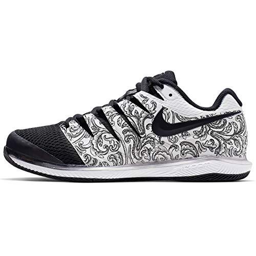 reputable site 1981e fdfe1 Nike Air Zoom Vapor X Mens Tennis Shoe (8 D US, White Black)