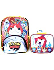 Yo-kai Watch 16 Backpack Book Bag with Lunch Bag Set