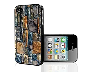 Beautiful Turquoise, Tan, and Creme Rock Wall Hard Snap on Phone Case (iPhone 5c)