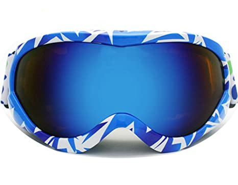 5ae551c05aa BeBeFun Junior Kids Youth Ski Goggles Anti Fog Lenses with Dual Lens For  Girl and Boy
