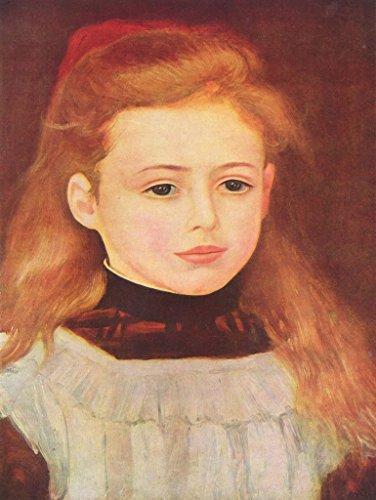 Lais Jigsaw Pierre-Auguste Renoir - Portrait of Lucie Bérard (Little Girl with White Apron) 100 Pieces ()