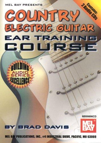 Blues Guitar Ear Training - Mel Bay Country Electric Guitar Ear Training Course