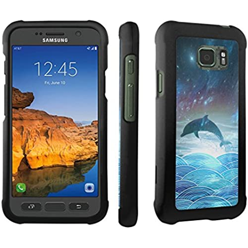 Galaxy S7 Active Case, DuroCase  Hard Case Black for Samsung Galaxy S7 Active (AT&T, 2016) SM-G891A - (Dolphin) Sales