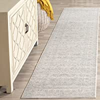 Safavieh Archive Collection ARC673C Vintage Grey and Light Grey Distressed Runner (22 x 6)