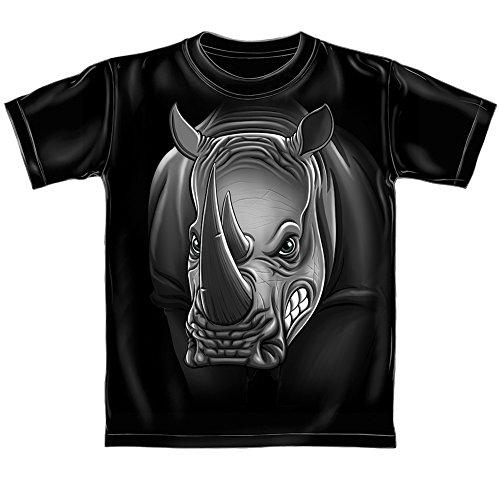 Dawhud Direct Rhino T-Shirt (Adult XL) Black