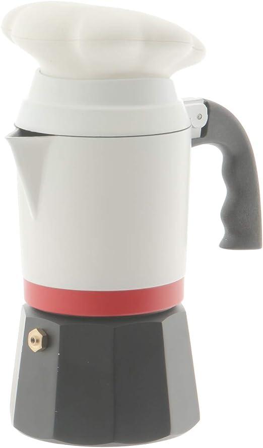 Cafetera Chef de Aluminio, De 3 tazas: Amazon.es: Hogar