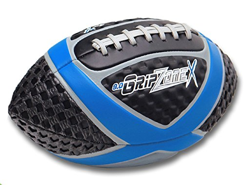 Fun Gripper Football (Fun Gripper Grip Zone (X) Football 9.0 Blue, Youth Size By: Saturnian I)
