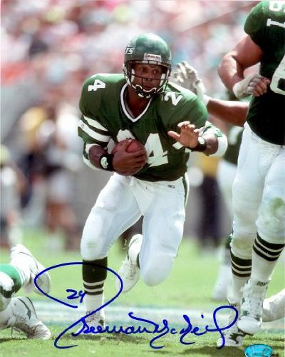 - Autograph Warehouse 80399 Freeman Mcneil Autographed 8 x 10 Photo New York Jets Image No .2