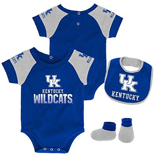 - Gen 2 NCAA Kentucky Wildcats Newborn & Infant 50 Yard Dash Bib & Bootie Set, 6-9 Months, Royal