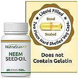 Health & Personal Care : NutrastanXP Neem Seed Oil Supplement, 500mg (60 Vegetarian Capsules)