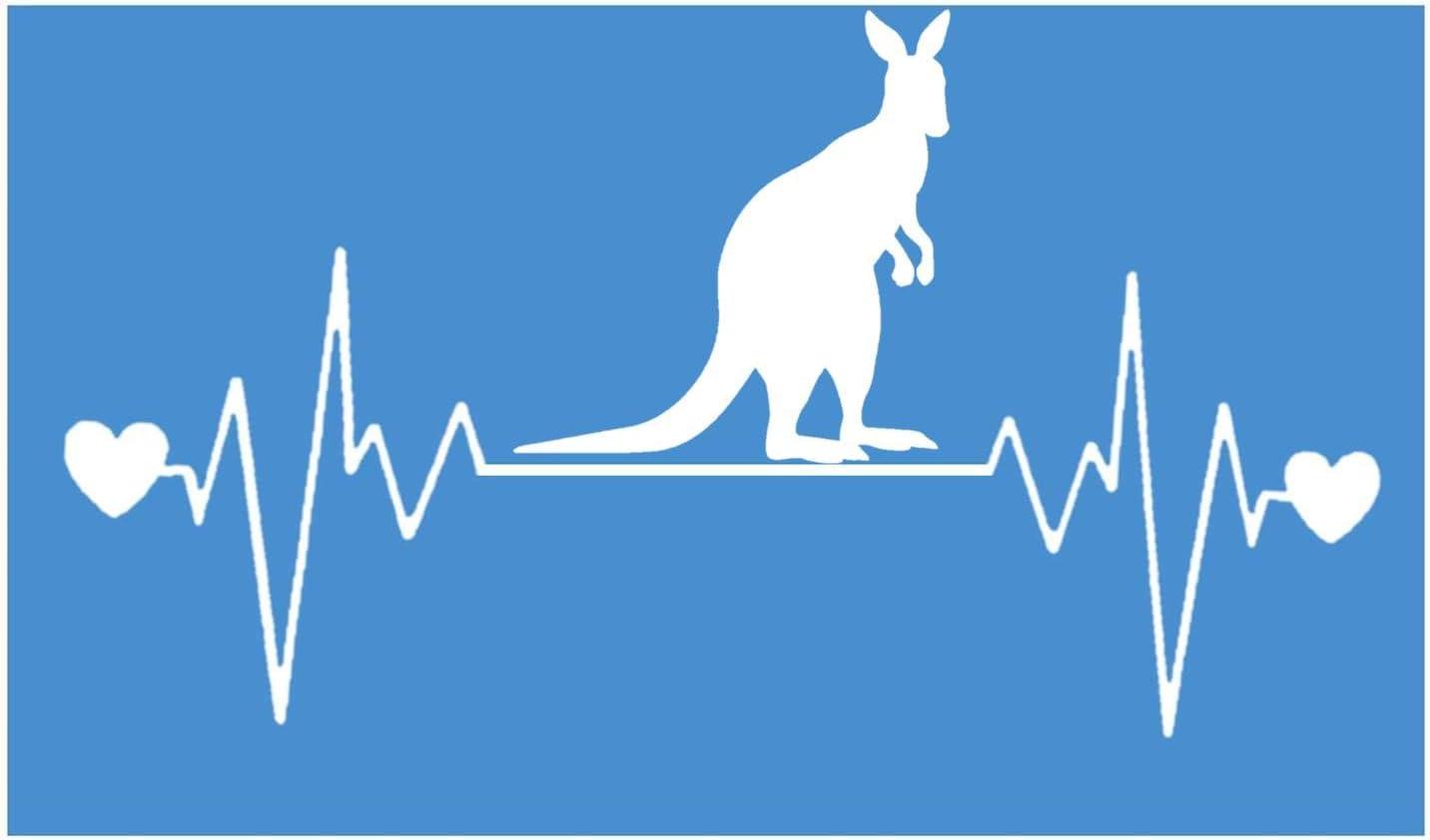"""Australien Rythme Cardiaque Lifeline I172 8 /"""" Large Autocollant Décalque Berger"""