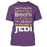 Hogwarts To Become A Jedi Harry Potter T Shirt Star Wars Shirt