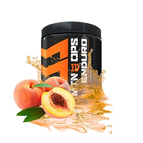 MTN OPS Enduro Enhancement Supplement Peach Flavored Powder Bottle (30 Servings)
