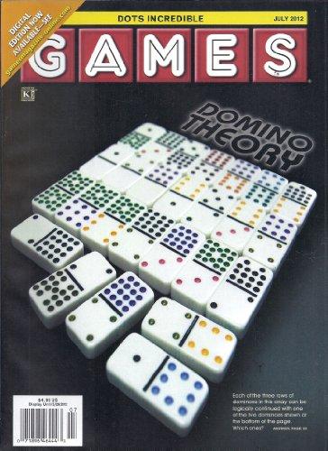 (Games Magazine (July 2012,Dots Incredible))