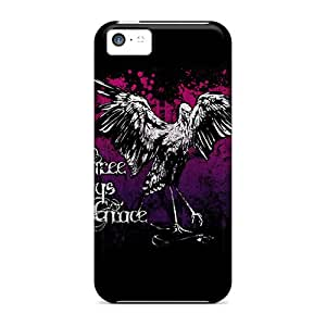 Shockproof Hard Phone Covers For Iphone 5c With Customized Stylish Three Days Grace Image AaronBlanchette
