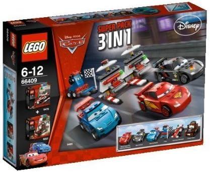 Lego Cars 2 - 66409 - Super Pack 3 en 1: Amazon.es: Juguetes y juegos