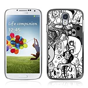 Designer Depo Hard Protection Case for Samsung Galaxy S4 / LOL Troll Faces