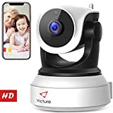 Product review for New Version Victure WiFi IP Camera 720P HD Wireless Indoor Home Security Surveillance Camera with Night Vision Motion Detection Playback 2-Way Audio Dome Home Monitor for Baby Elder Pet Pan/Tilt/Zoom