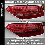 Film teinté foncé pour feux arrières Découpé sur mesure pour Audi A5B8LED Xenon Vfl