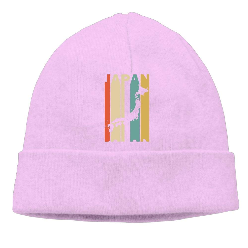 Unisex Retro Style Japan Silhouette Knit Cap Winter Skiing Cap