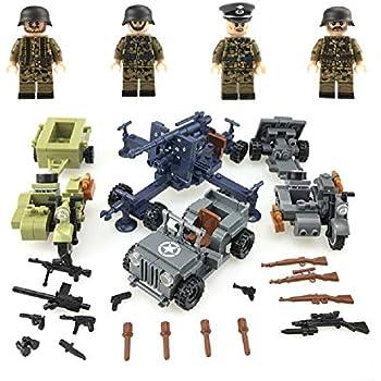 Amazon.com: funtoys24, ejército alemán camuflaje soldadores ...