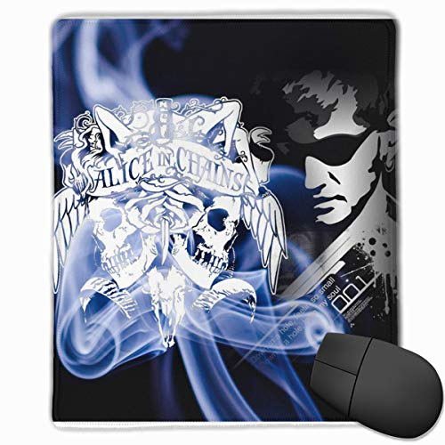 Rodney L Robbins Alice in Chains Durable Stitched Edges,Non-Slip Rubber  Base and Smooth Surface,Premium Textured Mouse Pad