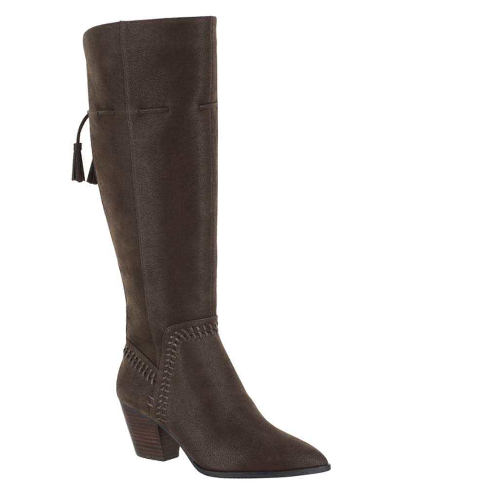 Brown Bella Vita Womens Eleanorii Fashion Boot