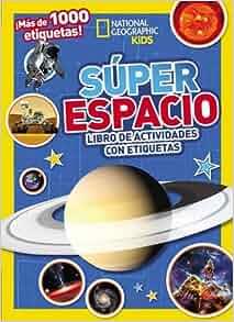 Súper espacio: Libro de actividades con etiquetas (Spanish