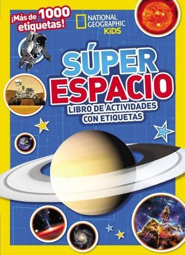 Súper espacio: Libro de actividades con etiquetas