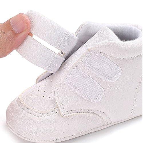 378080142e260 Chaussures de bébé Auxma Chaussures pour bébé garçons fille Sneaker  Chaussures en cuir douce et douce