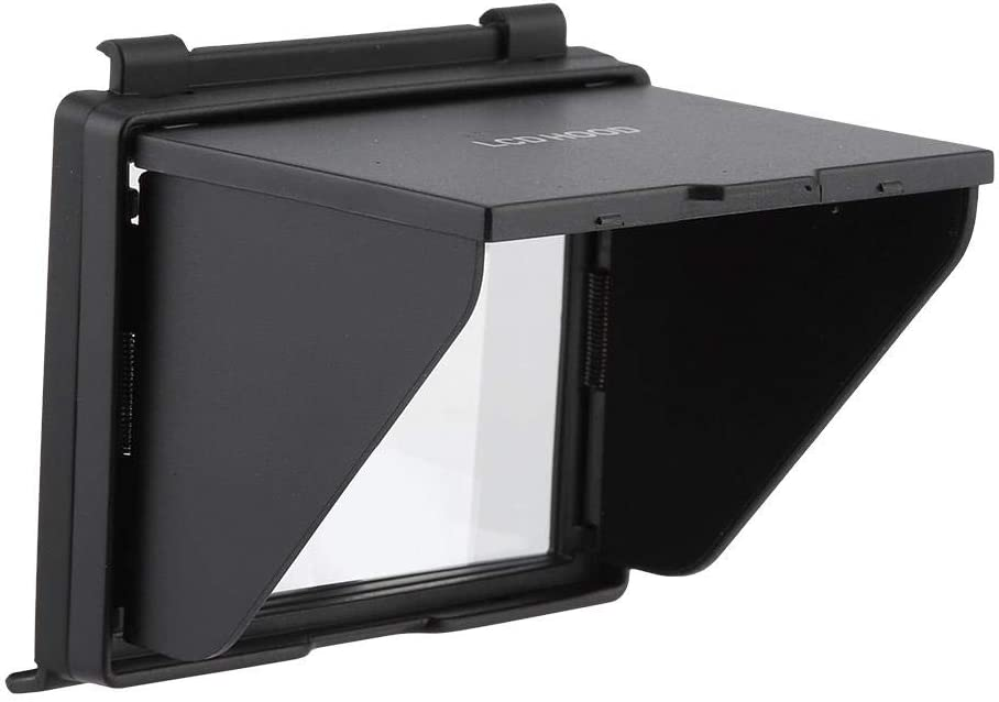 Portable and Durable Camera Screen Protector Sunshade Cover Bindpo LCD Screen Hood for Nikon D500