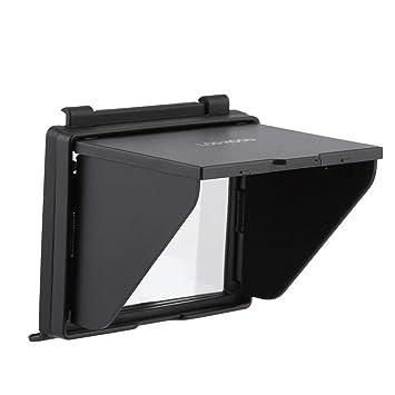Pantalla LCD Sombra Solar con Capucha emergente Pantalla Cubierta ...