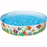 "Intex Ocean Reef Snapset Inflatable Pool, 8 X 18"", for Ages 3+"