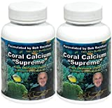 Coral Calcium Supreme 1000mg Formulated & Endorsed by Bob Barefoot 90 caps NEW Improved Formula (90x2)