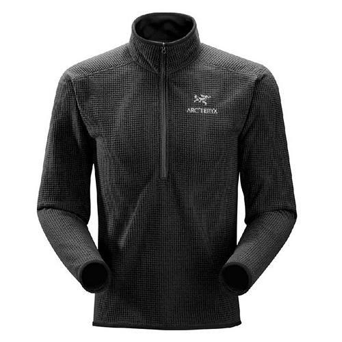 ARCTERYX Delta AR Zip Jacket - Men's Jackets LG Black