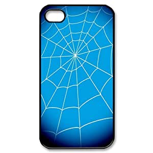 Spider Net Custom Phone Case For iPhone 4 4S Hard Case Cover Skin