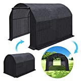 BenefitUSA Plant Gardening Large Walk-In BLACK Greenhouse Outdoor (10'X7'X6′) Review