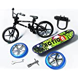 Remeeehi Alloy Finger Bikes and Skateboard Playset