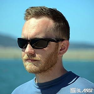 Polarized Sunglasses for Men - Women | Full UV protection | Best Sports Shades | Comfortable Unbreakable Frame | X7 Lens Tech | fishing running baseball tennis cycling golf | BONUS Car Holder