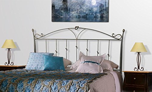 Modell NUDOS LEGUA DECORACIÓN BELTRÁN Kopfstück aus Eisen für Betten Betten