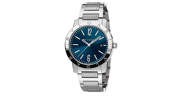 daedc5e1155 Bulgari Bvlgari automático 41 mm Mens Reloj bb41 C3ssd  Amazon.es  Relojes