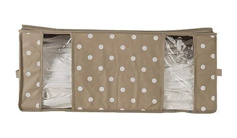 Compactor Brun Caja de Almacenaje Al Vacío, Talla XXL, 210 l, Gris Topo/Blanco Rivoli, RAN4622, poliÃster
