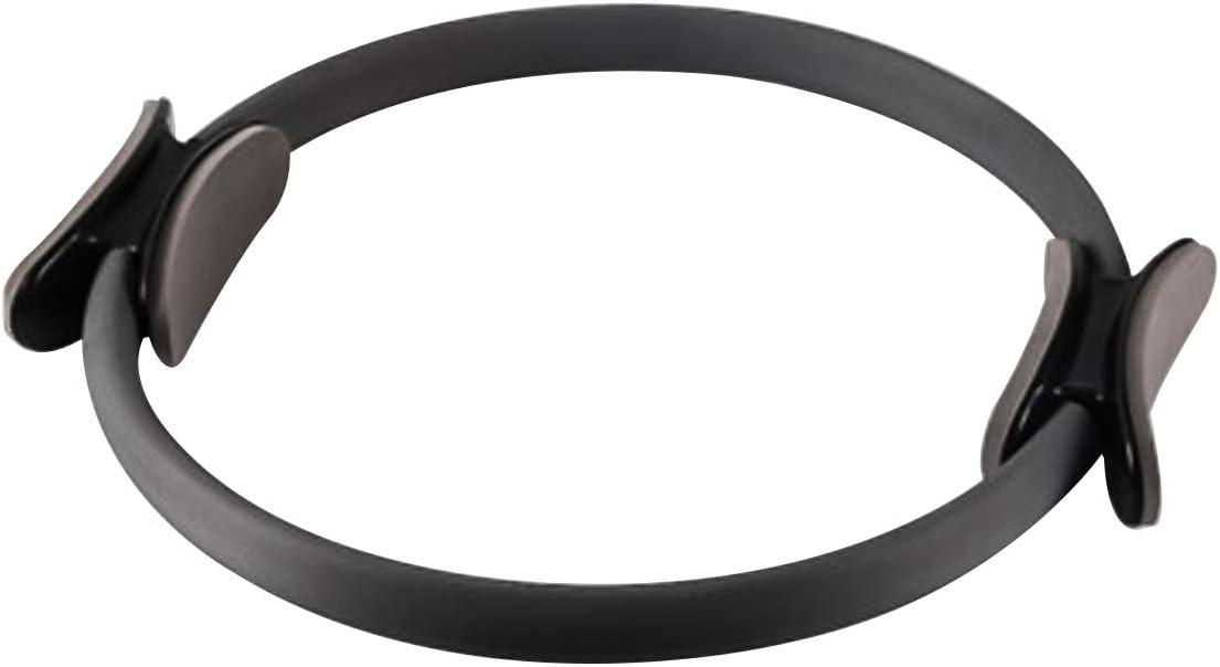 Jinxuny Pilates-Ringe Yoga Ring Doppelgriff Gymnastik Aerobic Circle Fitness Rad mit Doppelgriff f/ür Fettverbrennung